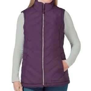 Free Country Size Small Plum Reversible Vest